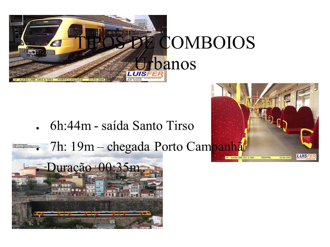Alfa Pendular 8h:15m - saída Porto Campanhã 11h:17m- chegada Lisboa - Oriente Duração 3h:02m