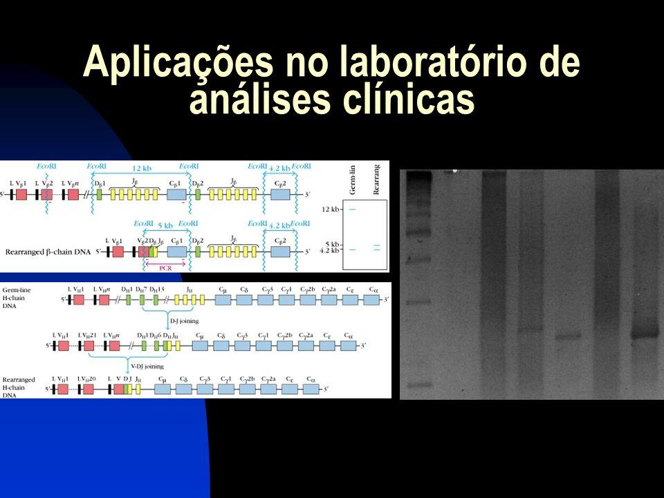 Aplicações no laboratório de análises clínicas