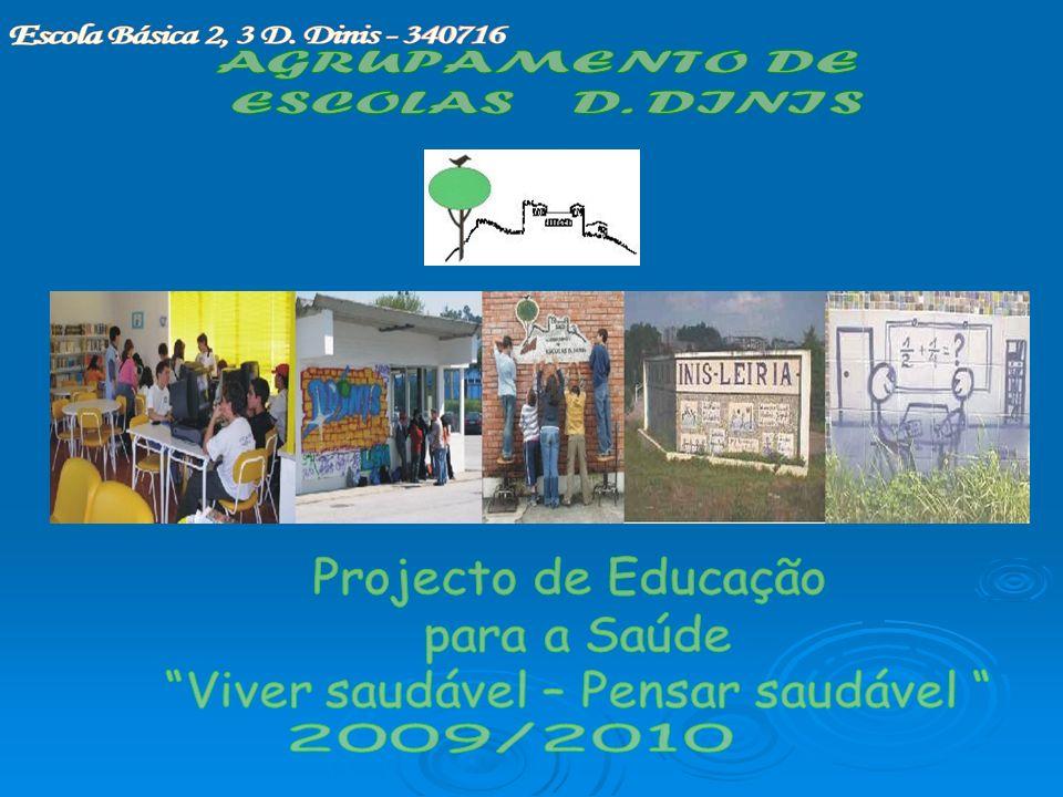 I – CARACTERIZAÇÃO DO AGRUPAMENTO 1- LOCALIZAÇÃO GEOGRÁFICA A localidade da escola sede, Escola Básica EB 2,3 D.