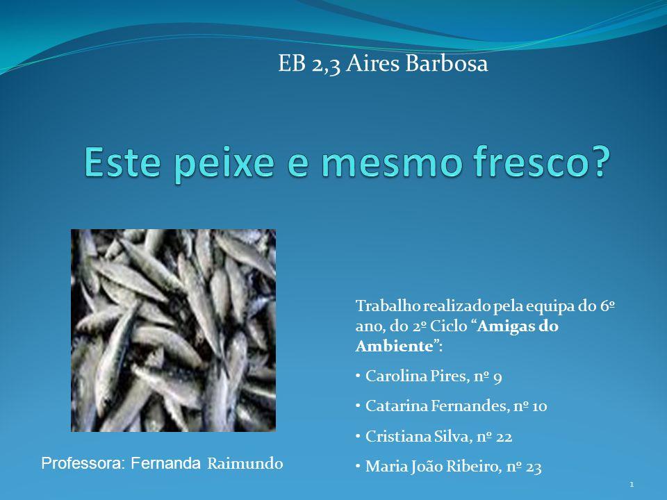 1 EB 2,3 Aires Barbosa Professora: Fernanda Raimundo Trabalho realizado pela equipa do 6º ano, do 2º Ciclo Amigas do Ambiente: Carolina Pires, nº 9 Ca