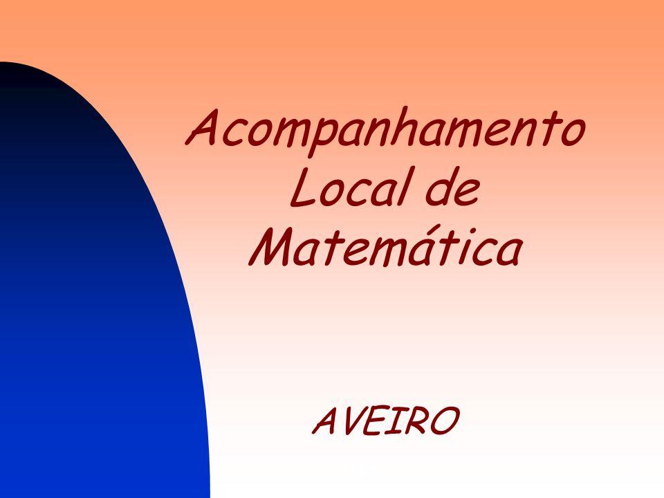 DES1 Acompanhamento Local de Matemática AVEIRO
