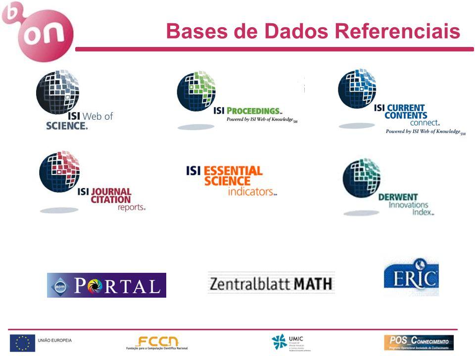 Bases de Dados Referenciais
