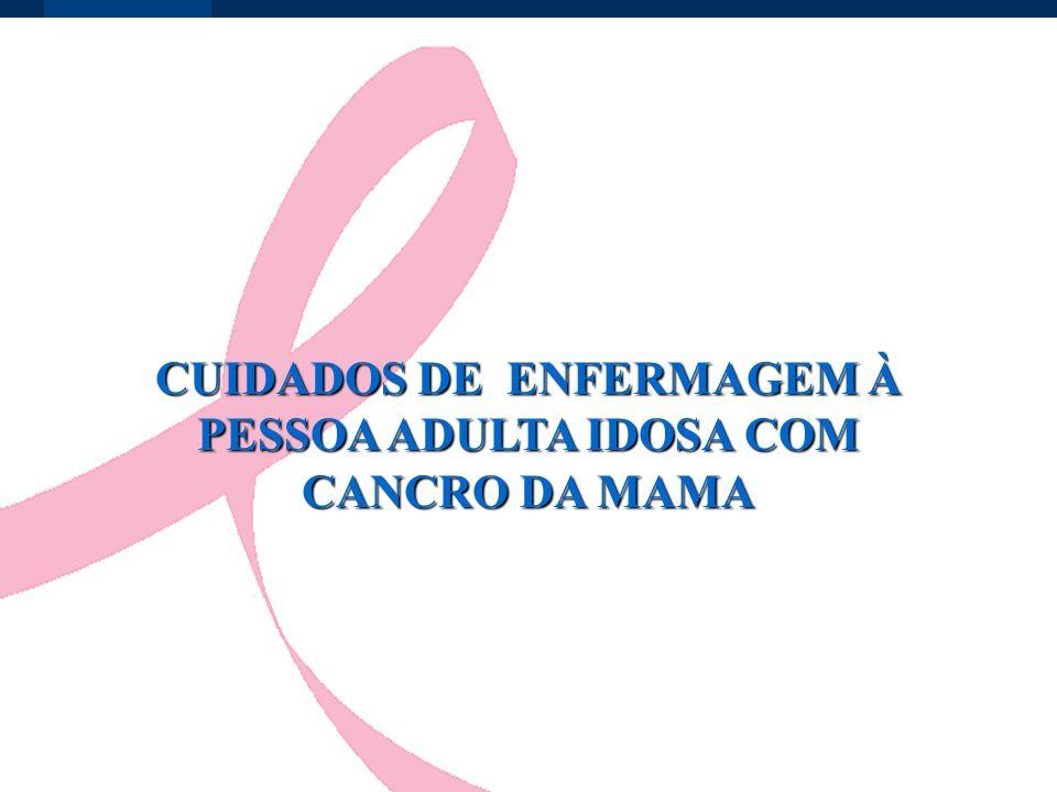 CUIDADOS DE ENFERMAGEM À PESSOA ADULTA IDOSA COM CANCRO DA MAMA