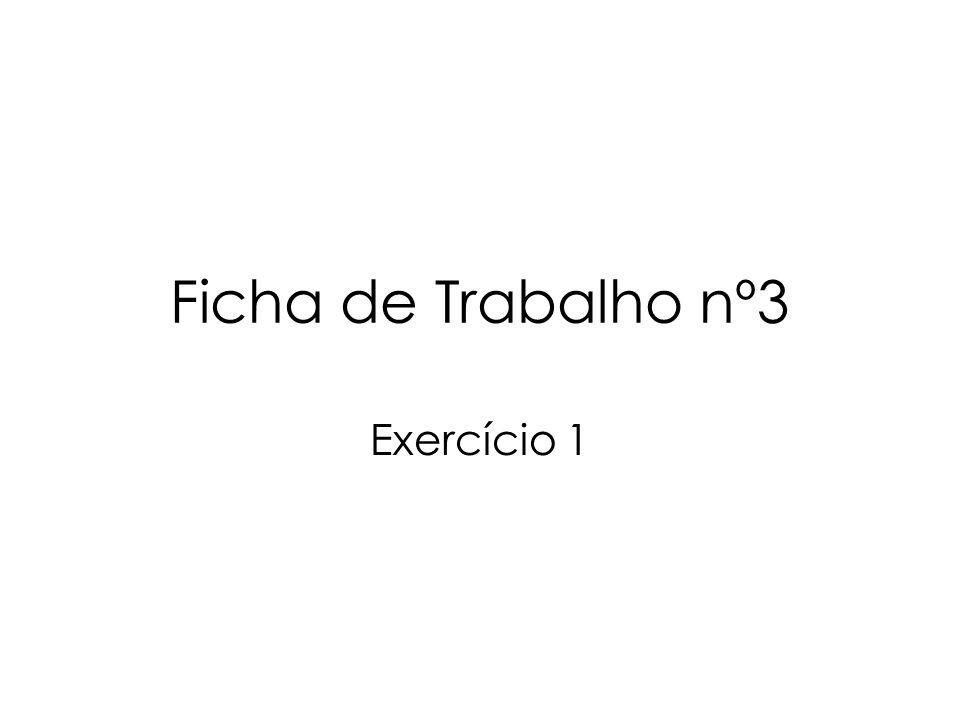Exercício 5 5.