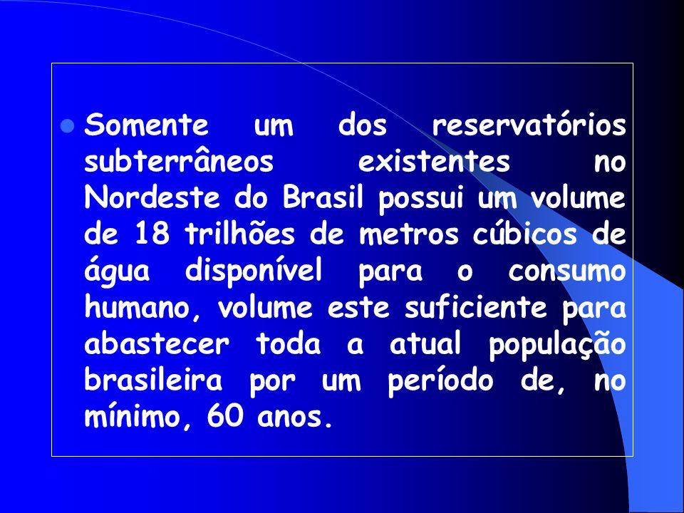 É comum em regiões com grutas calcáreas, ocorrendo em várias partes do Brasil.---VOCÊ SABIA QUE...? 97% de toda água doce disponível existente no plan