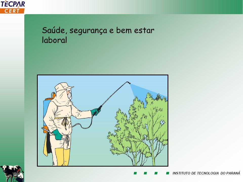 INSTITUTO DE TECNOLOGIA DO PARANÁ Saúde, segurança e bem estar laboral