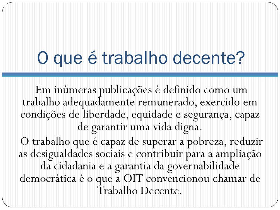 7- Igualdade de oportunidades e de tratamento no emprego Fonte: IBGE – PNAD.