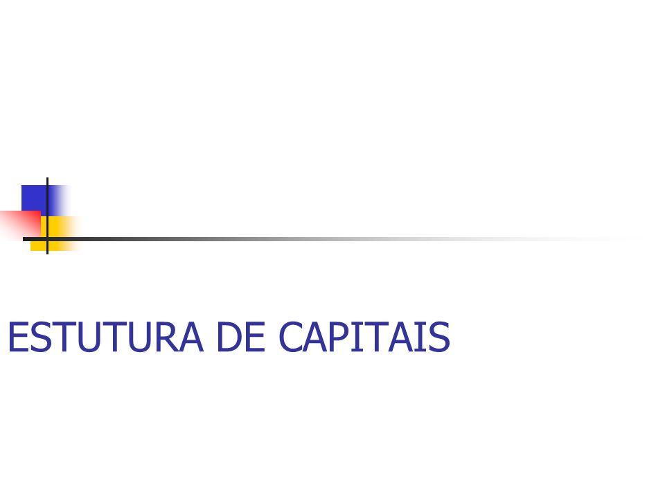 ESTUTURA DE CAPITAIS
