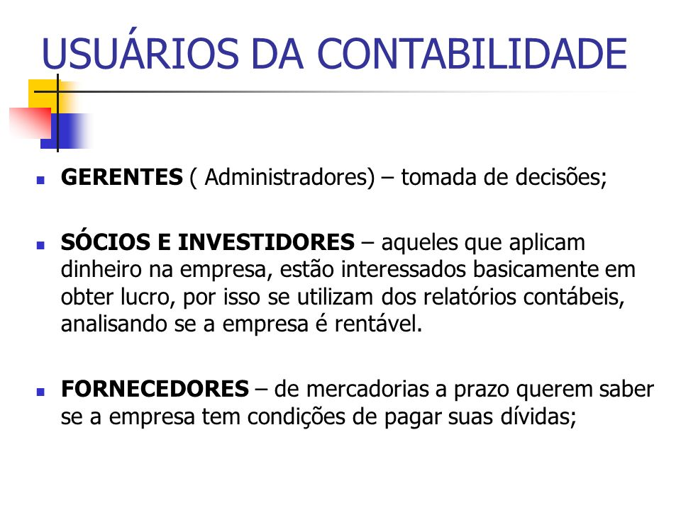 PROFISSIONAL CONTÁBIL TÉCNICO EM CONTABILIDADE: cursou a contabilidade em nível de 2.o.