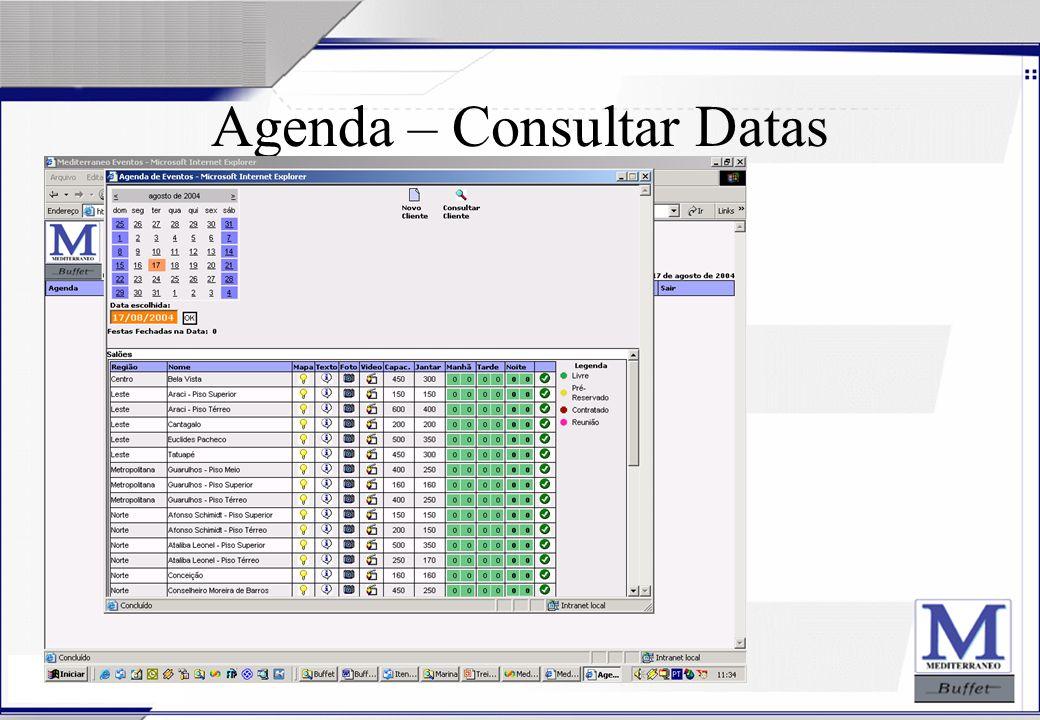 24/07/2003 Agenda – Consultar Datas
