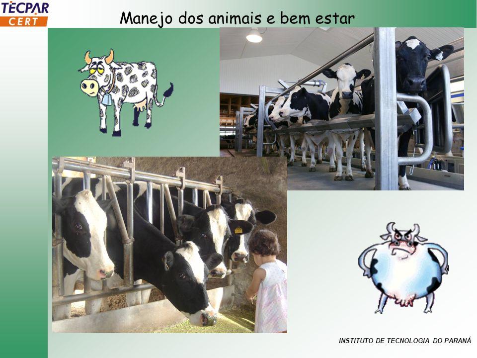 INSTITUTO DE TECNOLOGIA DO PARANÁ Manejo dos animais e bem estar