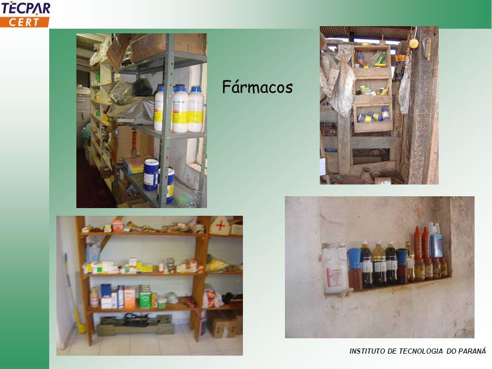 INSTITUTO DE TECNOLOGIA DO PARANÁ Fármacos