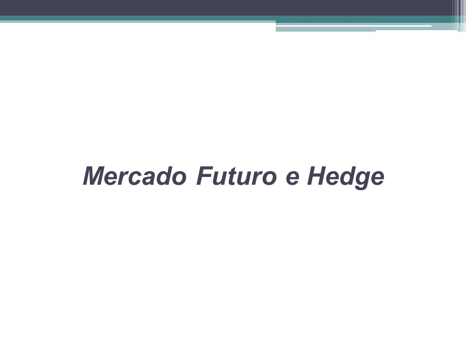 O que é Mercado Futuro Mercado futuro é um mercado em que se negociam compromissos de compra e venda que só serão realizados no futuro.