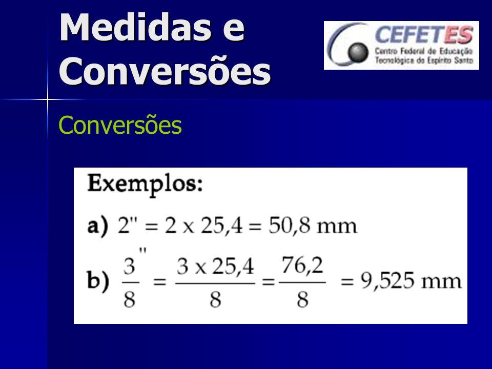 Medidas e Conversões Conversões