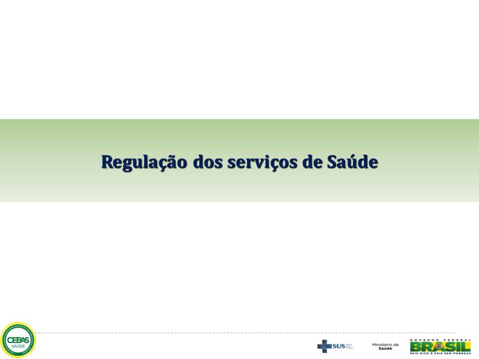 Regulação dos serviços de Saúde
