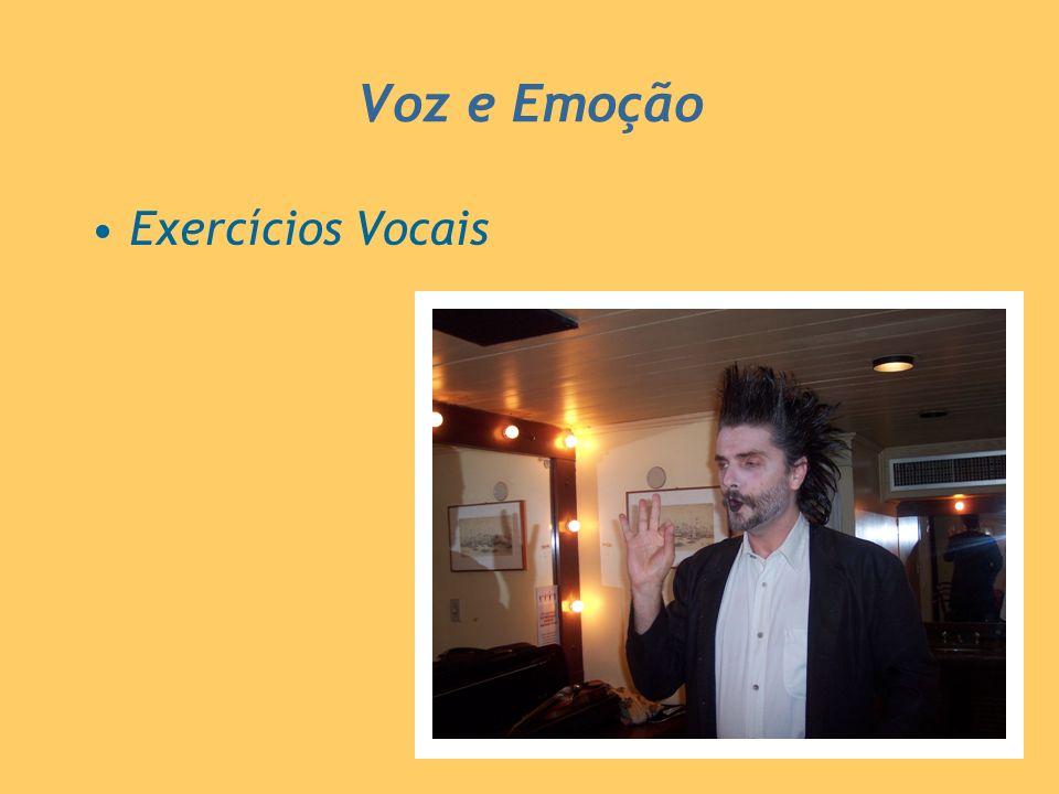 Exercícios Vocais Voz e Emoção