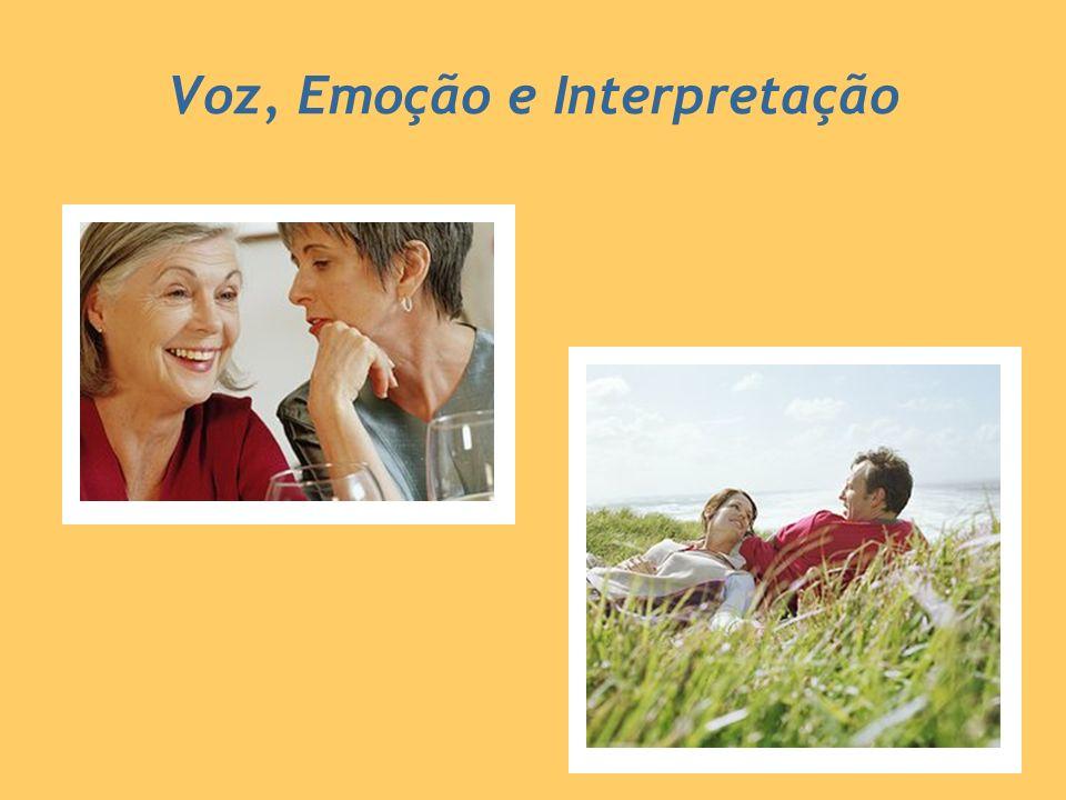 Voz, Emoção e Interpretação