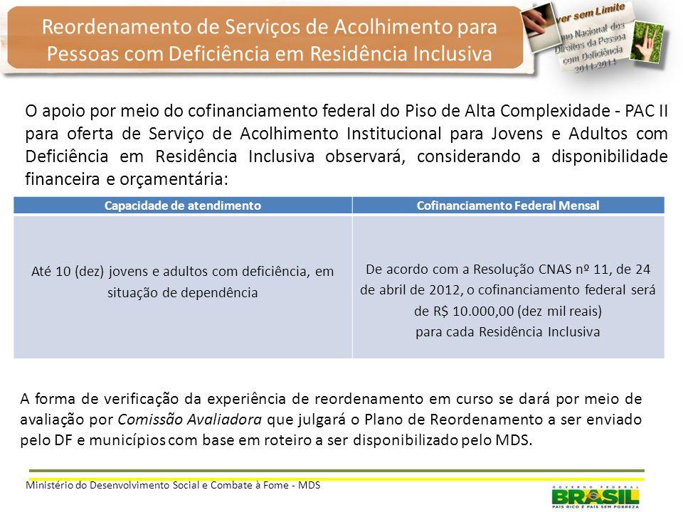 Objetivos: Ofertar de forma qualificada a proteção integral de jovens e adultos com deficiência, em situação de dependência; Promover a inclusão de jo