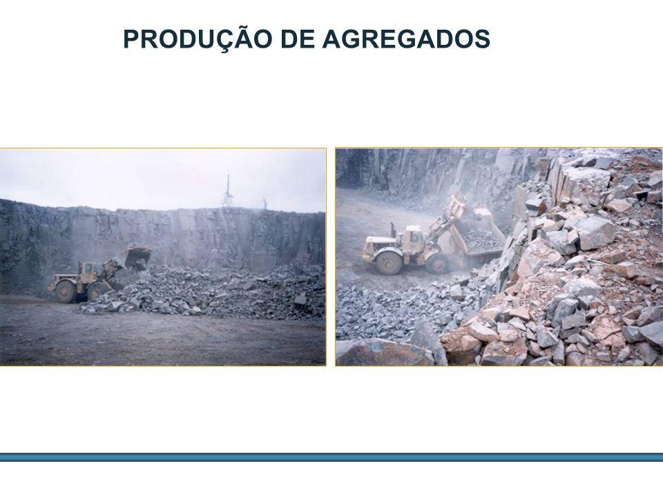 ESTUDOS DE AGREGADOS / 12 PRODUÇÃO DE AGREGADOS