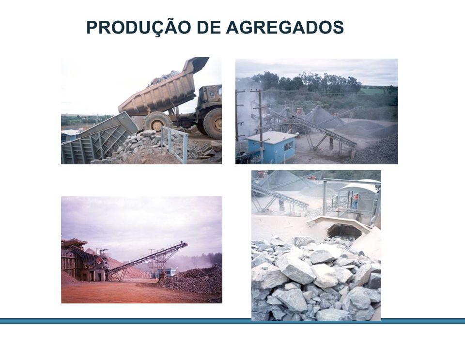 ESTUDOS DE AGREGADOS / 13 PRODUÇÃO DE AGREGADOS