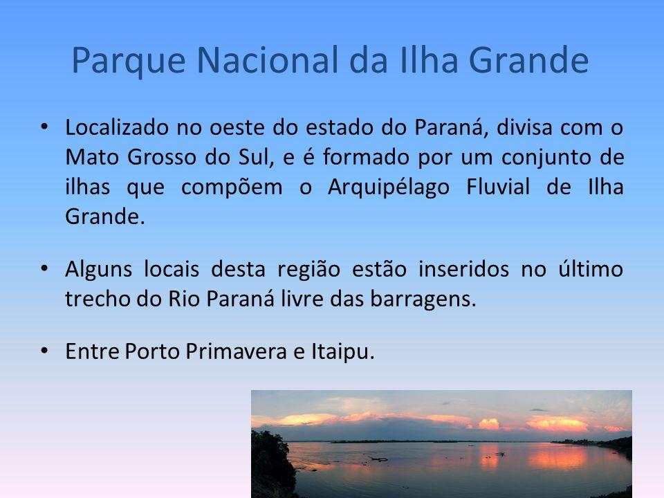 Localizado no oeste do estado do Paraná, divisa com o Mato Grosso do Sul, e é formado por um conjunto de ilhas que compõem o Arquipélago Fluvial de Il