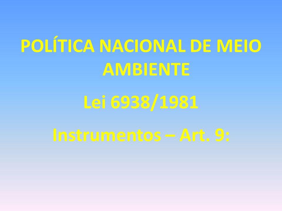 LICENCIAMENTO AMBIENTAL Art.1º -...