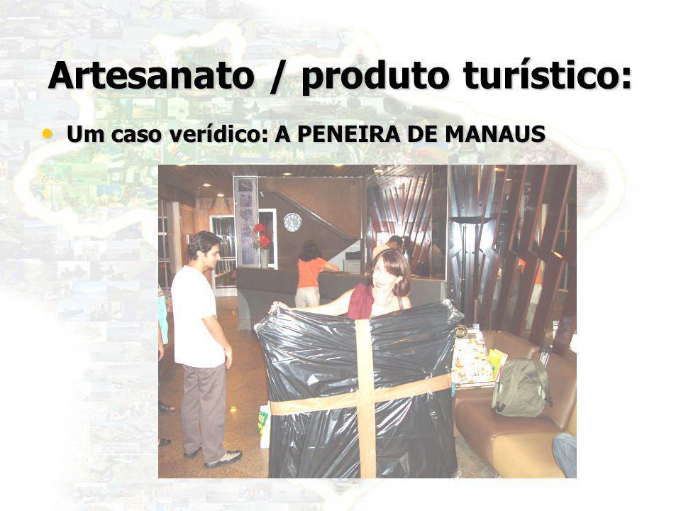 34 Artesanato / produto turístico: Um caso verídico: A PENEIRA DE MANAUS Um caso verídico: A PENEIRA DE MANAUS