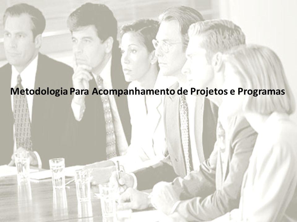 Metodologia Para Acompanhamento de Projetos e Programas