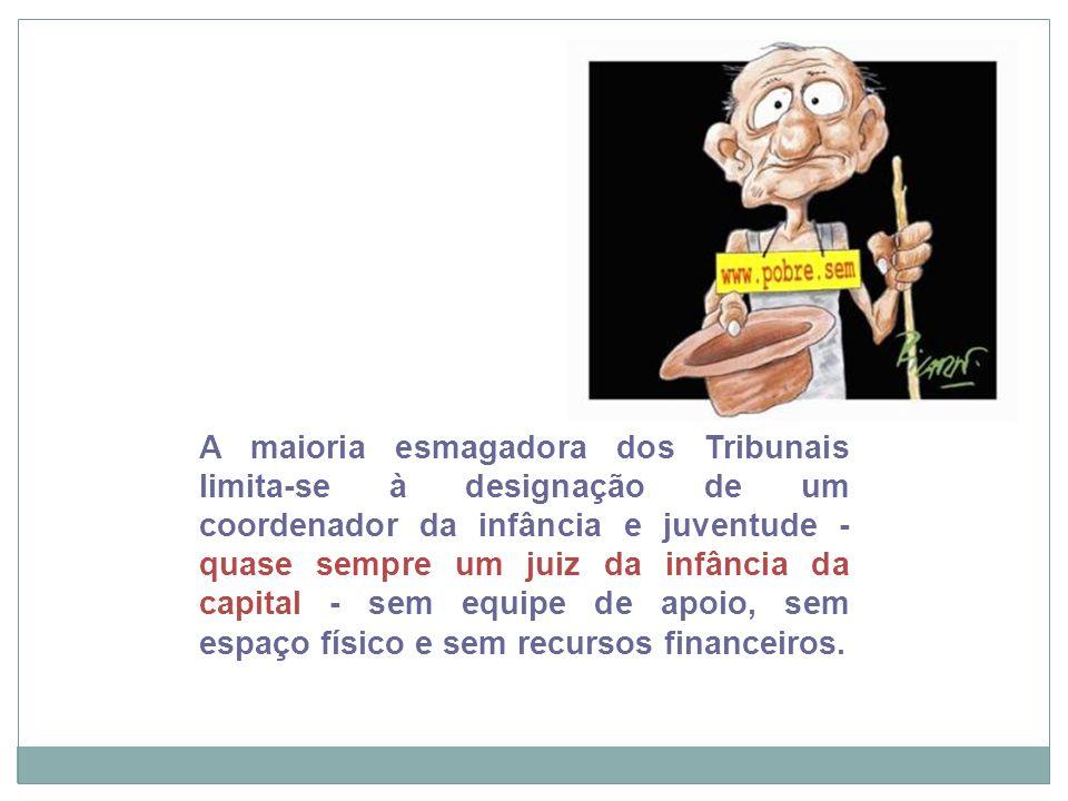 Recife, 21/11/12 Para enfrentar este quadro, em 21 de agosto de 2012, a Abraminj e a AMB proveram uma reunião de coordenadores, em Brasília, a partir da qual foi criado um Colegiado, que elaborou uma Carta com as principais posições institucionais e diretrizes para intervenção nacional, a saber: 1.