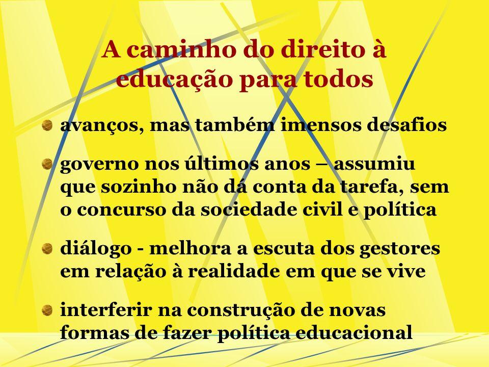 Educação de Jovens e Adultos no tempo presente não se resume nem à alfabetização, nem à escolarização; o lugar da educação profissional; sujeitos da d