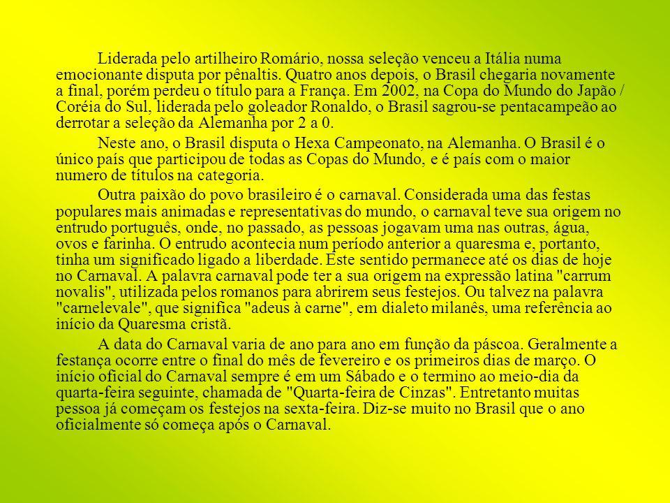 Em 1928 foi fundada a primeira Escola de Samba, a Deixa Falar.