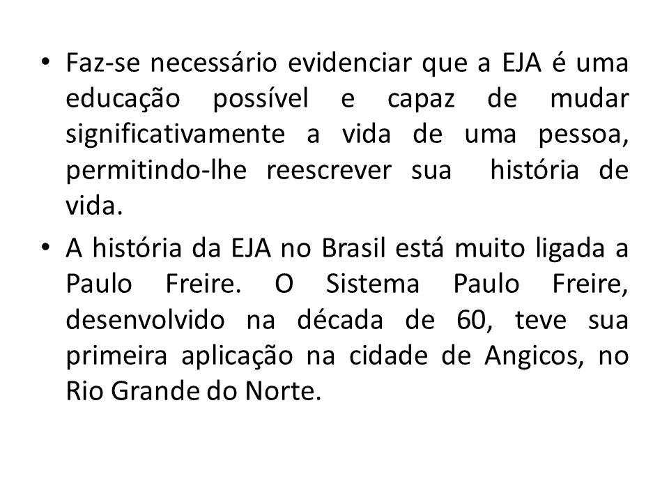 A década de 70, ainda sob a ditadura militar, marca o início das ações do Movimento Brasileiro de Alfabetização o MOBRAL, que era um projeto para se acabar com o analfabetismo em apenas dez anos.