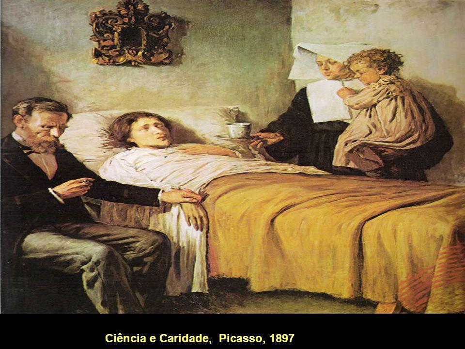Ciência e Caridade, Picasso, 1897