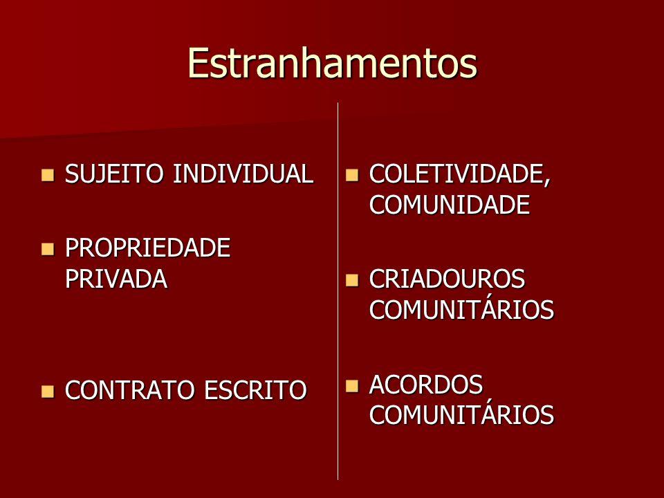 O início da mudança Processo de transição democrática na América Latina (Anos 70/ 80) Processo de transição democrática na América Latina (Anos 70/ 80) (Re)organização de coletividades e movimentos sociais (Re)organização de coletividades e movimentos sociais CONSTITUIÇÃO FEDERAL DE 1988 = marco jurídico inicial para os Povos e Comunidades tradicionais CONSTITUIÇÃO FEDERAL DE 1988 = marco jurídico inicial para os Povos e Comunidades tradicionais