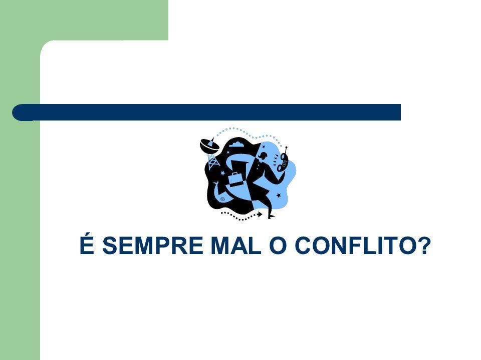Conflito - definição Conflito é meramente a existência de opiniões divergentes ou incompatíveis. (PICKERING, São Paulo, 1999, pg.3)