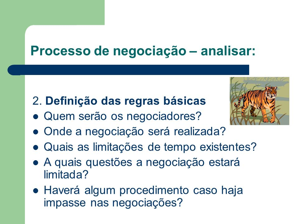 Processo de negociação – analisar: 1.1 – Após levantamento das informações da Preparação e Planejamento, criar o sua estratégia BATNA (Best Alternativ