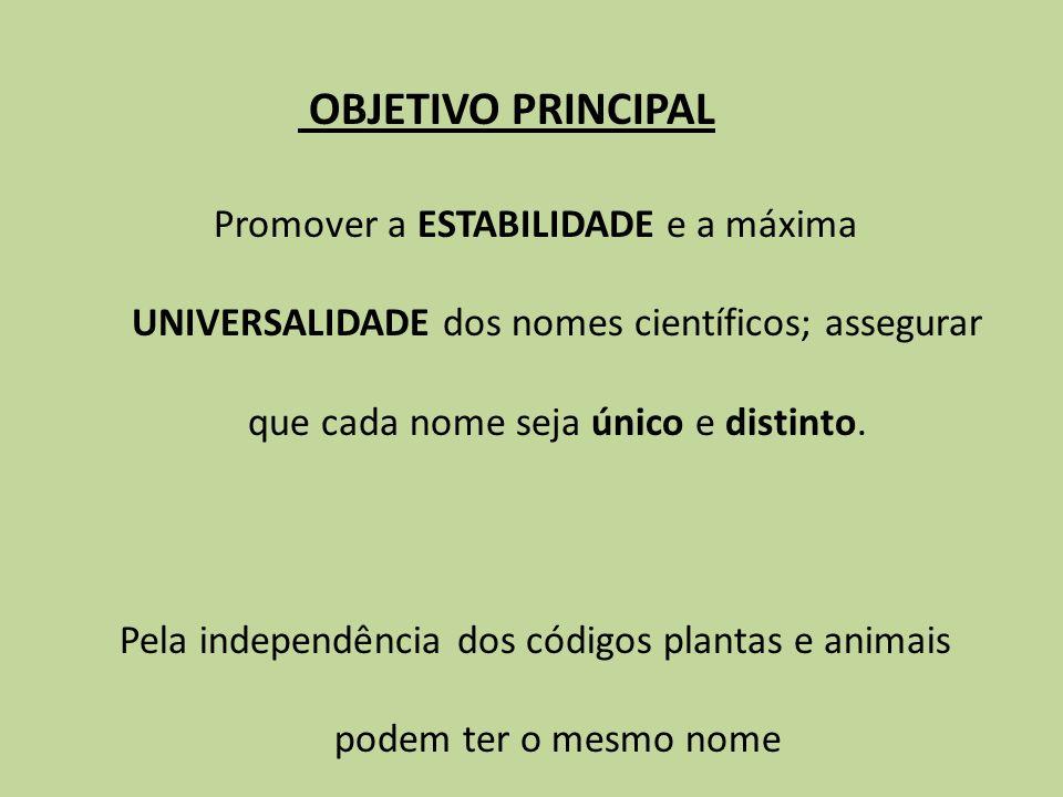 Princípios da Classificação Zoológica CLASSIFICAÇÕES NATURAIS...são aquelas que refletem a...