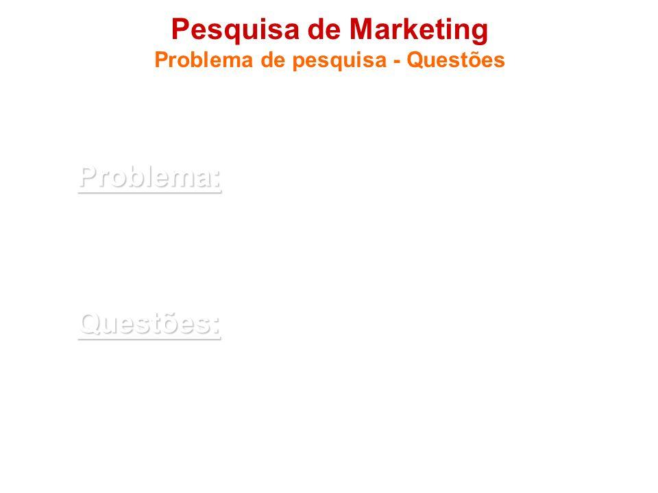 Pesquisa de Marketing Problema de pesquisa - Questões 1.3 Questões a serem respondidasProblema: Os consumidores recompensam o comportamento socialment