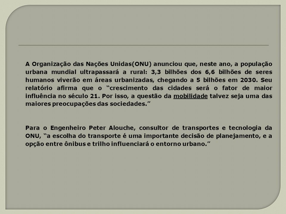 A sua implantação como proposta para Minas Gerais, se justifica, portanto, plenamente por ser Minas Gerais o Estado que detém os maiores segmentos da malha ferroviária em operação, com as duas maiores concessionárias (MRS logística e CVRD: FCA e EFVM), segmentos ferroviários estes por onde passam mais de 70% de nossas cargas vindo ou indo para outros estados ou para exportação.