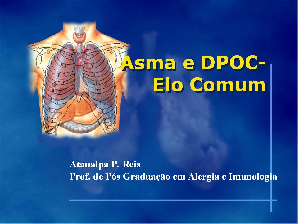 Asma é uma doença inflamatória crônica de vias aéreas que envolve a participação de diversas células e componentes celulares.