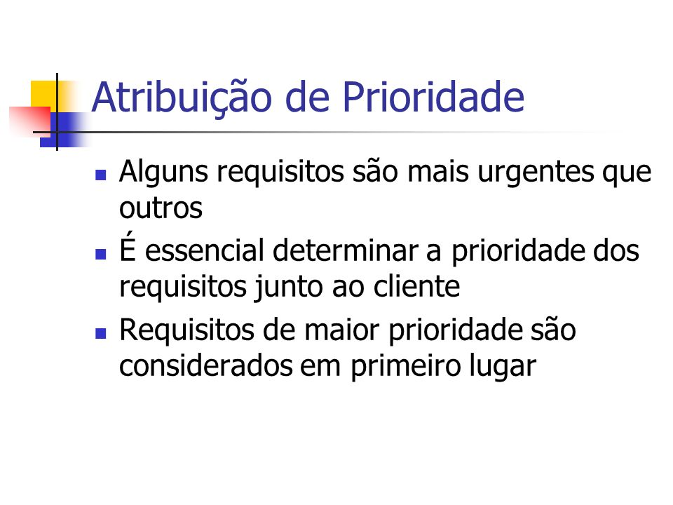 Links dos requisitos devem ser marcados como revisar Links revisar devem ser analisados Req A antes if return value > $5 Req B Req C if return value > $2 Req A depois Req C Req B Rastreamento: Análise de Impacto