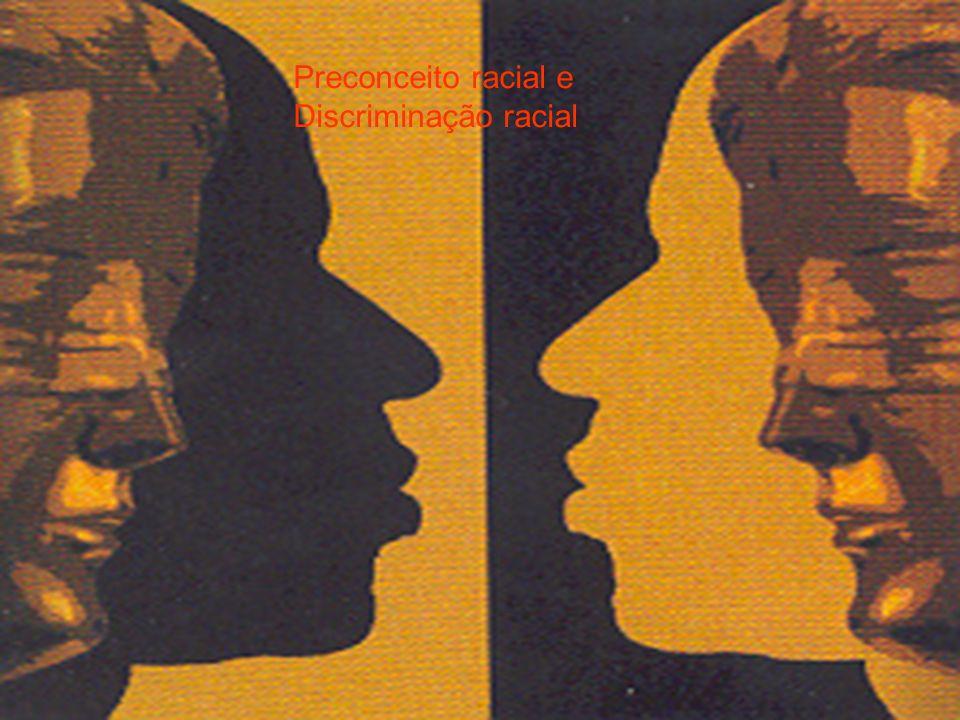 Preconceito racial e Discriminação racial