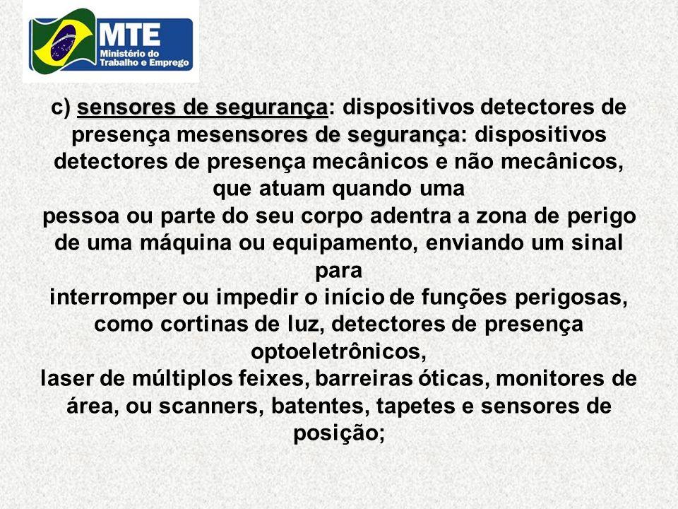 sensores de segurança sensores de segurança c) sensores de segurança: dispositivos detectores de presença mesensores de segurança: dispositivos detect