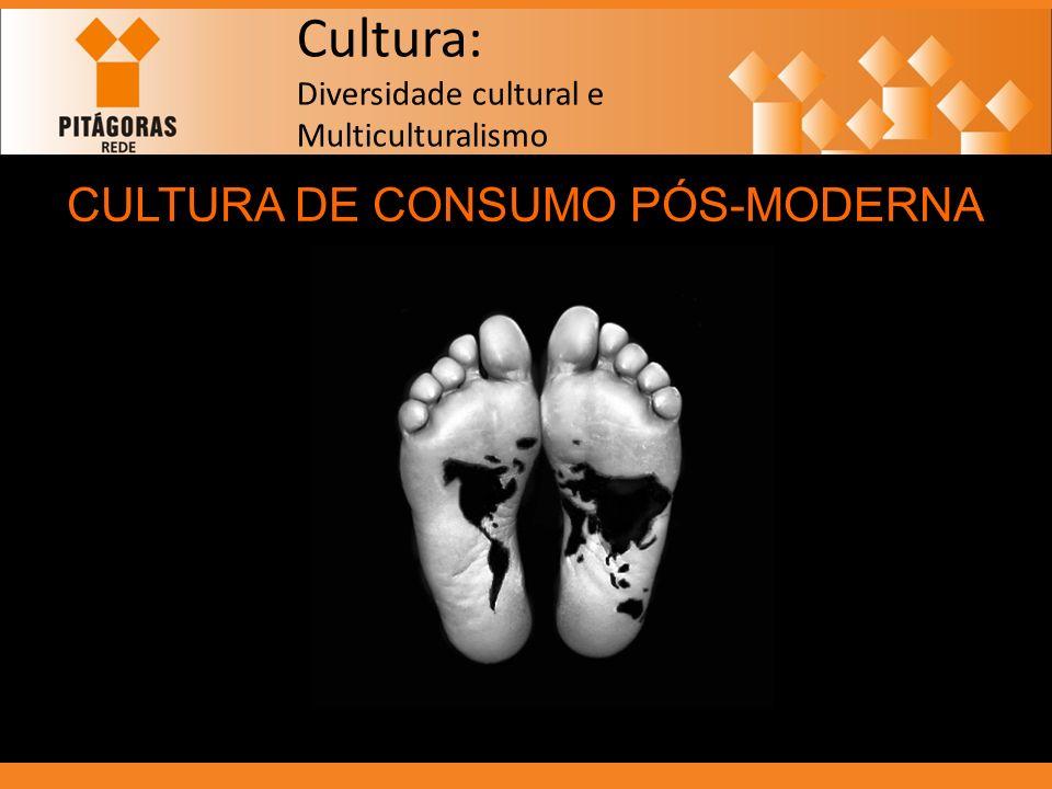 Cultura: Diversidade cultural e Multiculturalismo CULTURA DE CONSUMO PÓS-MODERNA