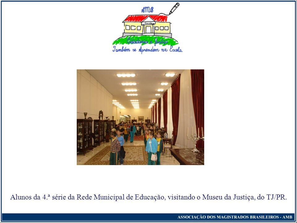 Cidadania e Justiça Também se Aprendem na Escola Segunda Etapa (essencial) - Visitação destinada a alunos e professores Organização de visitas de prof