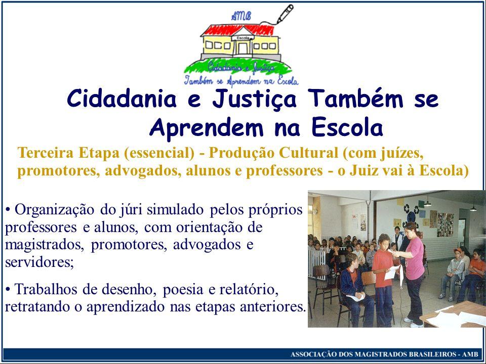 Alunos da 4.ª série da Rede Municipal de Educação, visitando o Museu da Justiça, do TJ/PR.