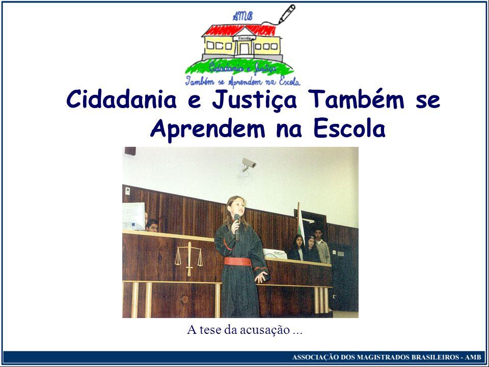 Julgamentos Simulados Quarta Etapa - Apresentação dos trabalhos