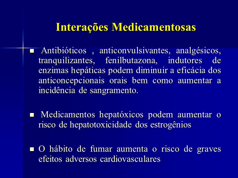 Interações Medicamentosas Antibióticos, anticonvulsivantes, analgésicos, tranquilizantes, fenilbutazona, indutores de enzimas hepáticas podem diminuir