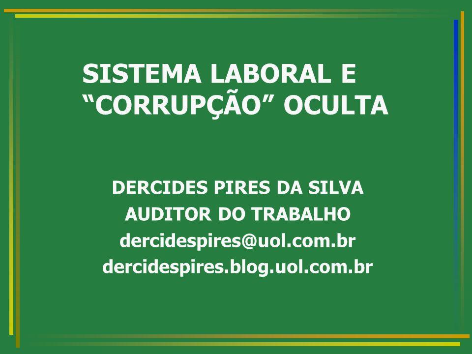 2 SUMÁRIO: DE QUAL CORRUPÇÃO FALAMOS.