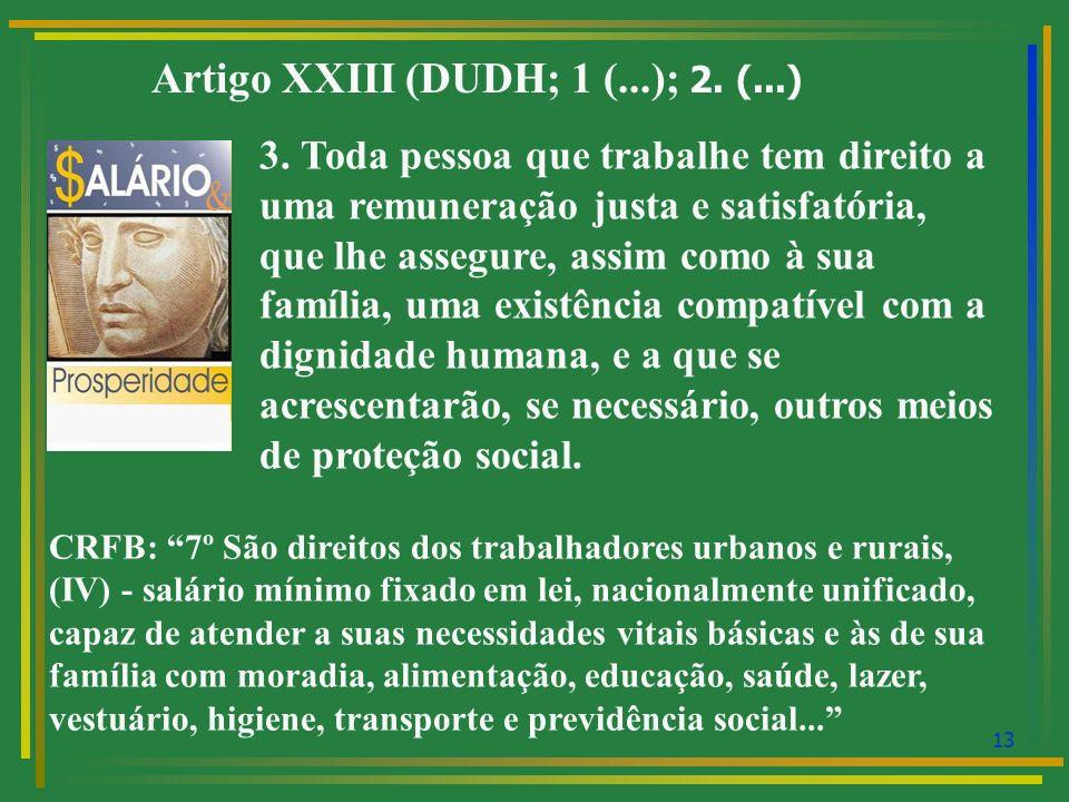 14 DIREITO DO TRABALHO: PEDRA DE TROPEÇO OU DIREITO HUMANO.